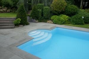 Pool Terrasse Boden